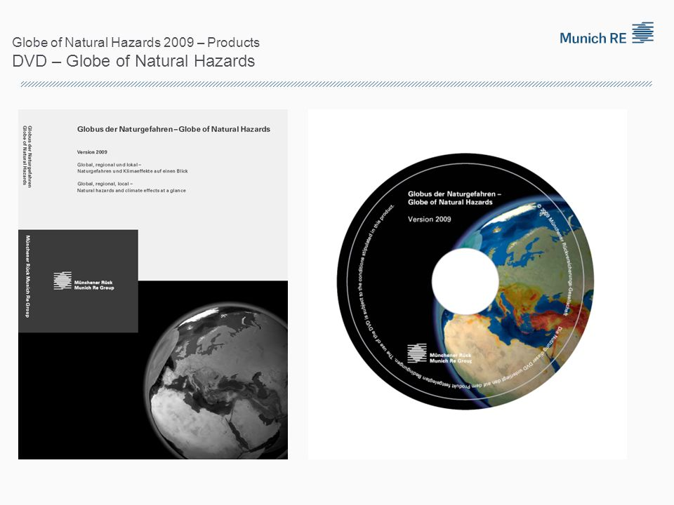 Globe of Natural Hazards 2009 – Products DVD – Globe of Natural Hazards