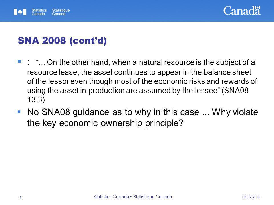 :... On the other hand, when a natural resource is the subject of a resource lease, the asset continues to appear in the balance sheet of the lessor e