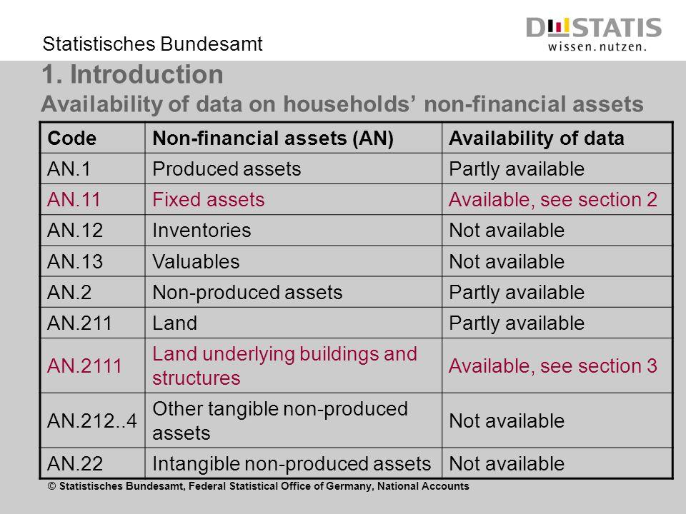 © Statistisches Bundesamt, Federal Statistical Office of Germany, National Accounts Statistisches Bundesamt 1.