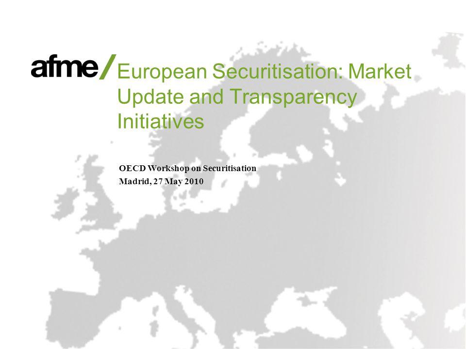 2 Agenda Introduction European Securitisation Market Update Transparency Initiatives
