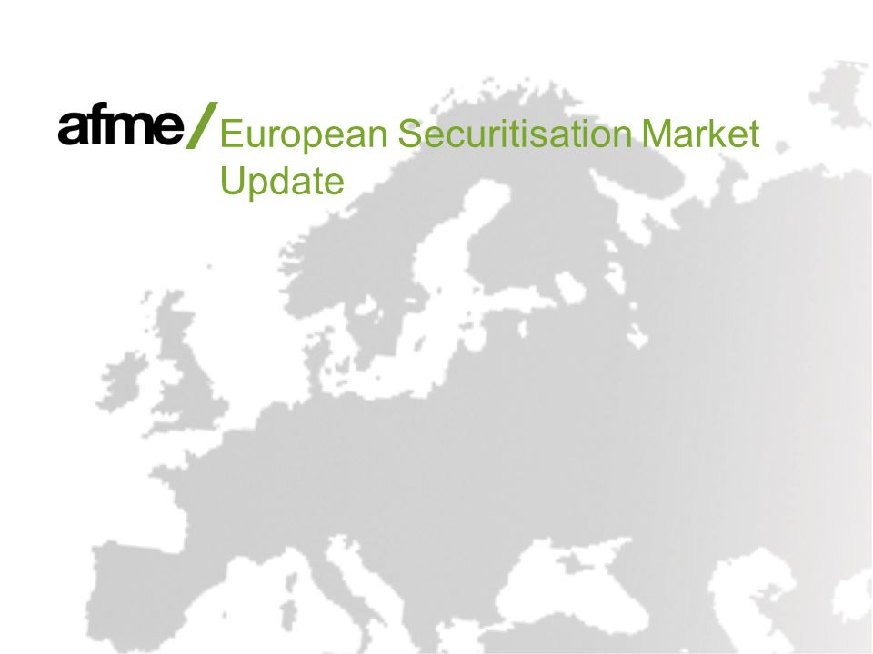 European Securitisation Market Update