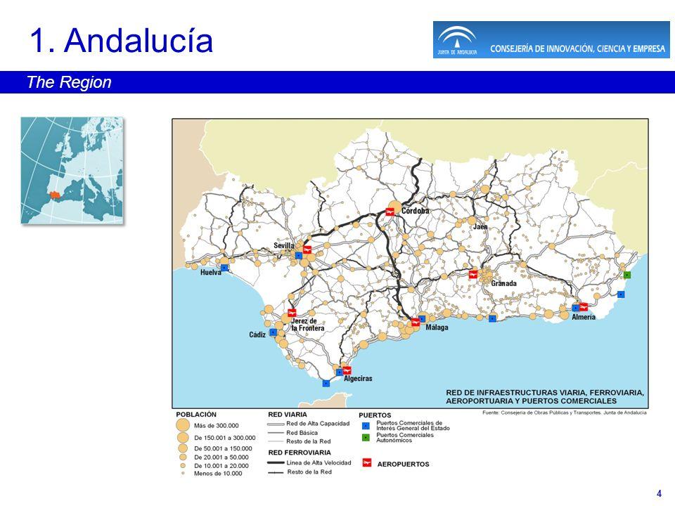 4 1. Andalucía The Region