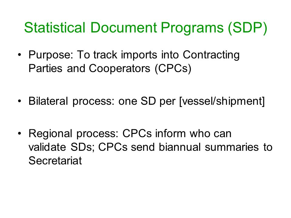 Other estimates - SDP-BET and SDP-SWO are still at the early stages of implementation and have not been used.