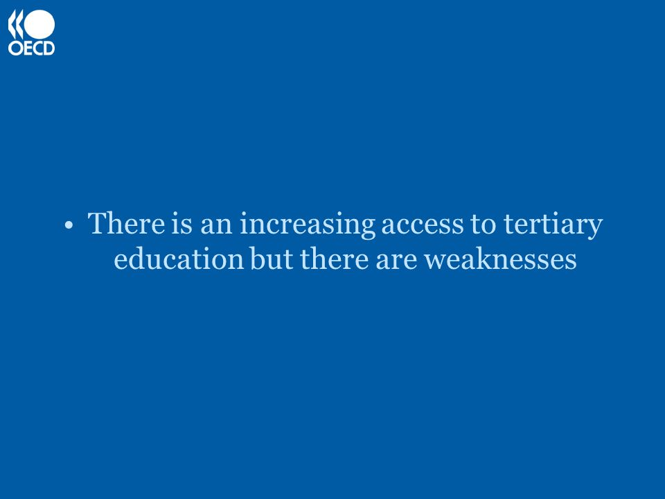 Access may not reflect personal choice: -In the USA, PWD are four times less likely than non- disabled students to be admitted to long courses or enroll in institutions offering a first postgraduate course.