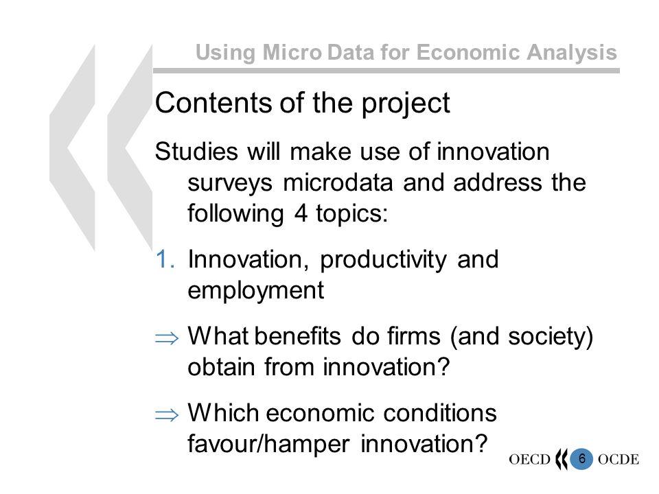 7 Using Micro Data for Economic Analysis 2.