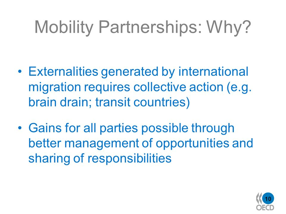 10 Mobility Partnerships: Why.