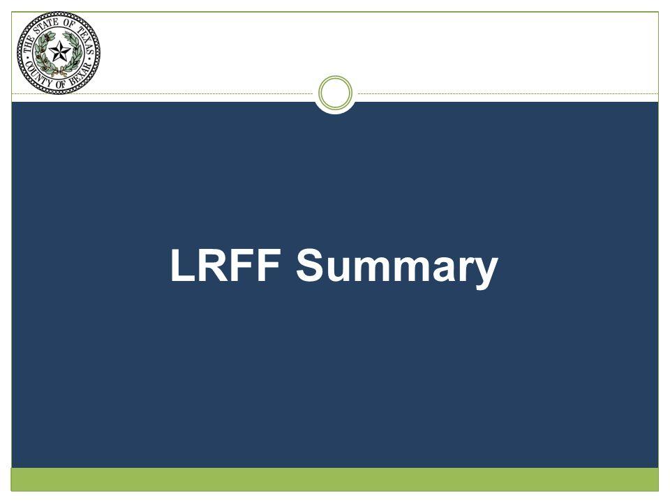 LRFF Summary