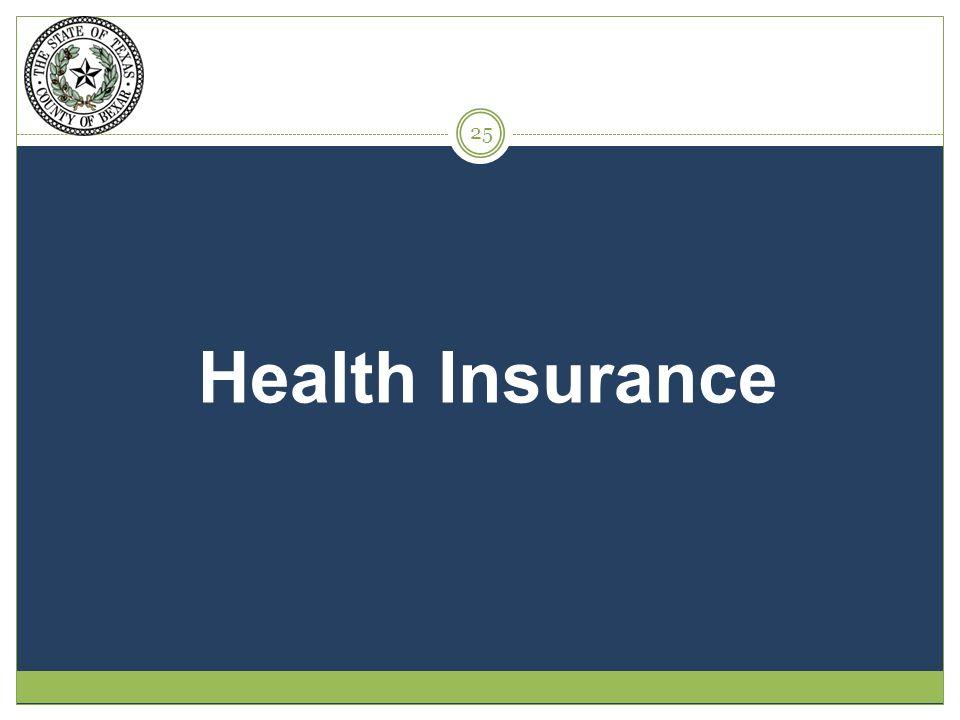 Health Insurance 25