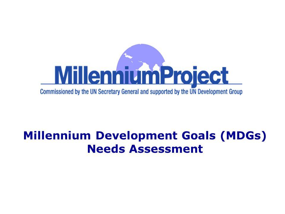 Millennium Development Goals (MDGs) Needs Assessment