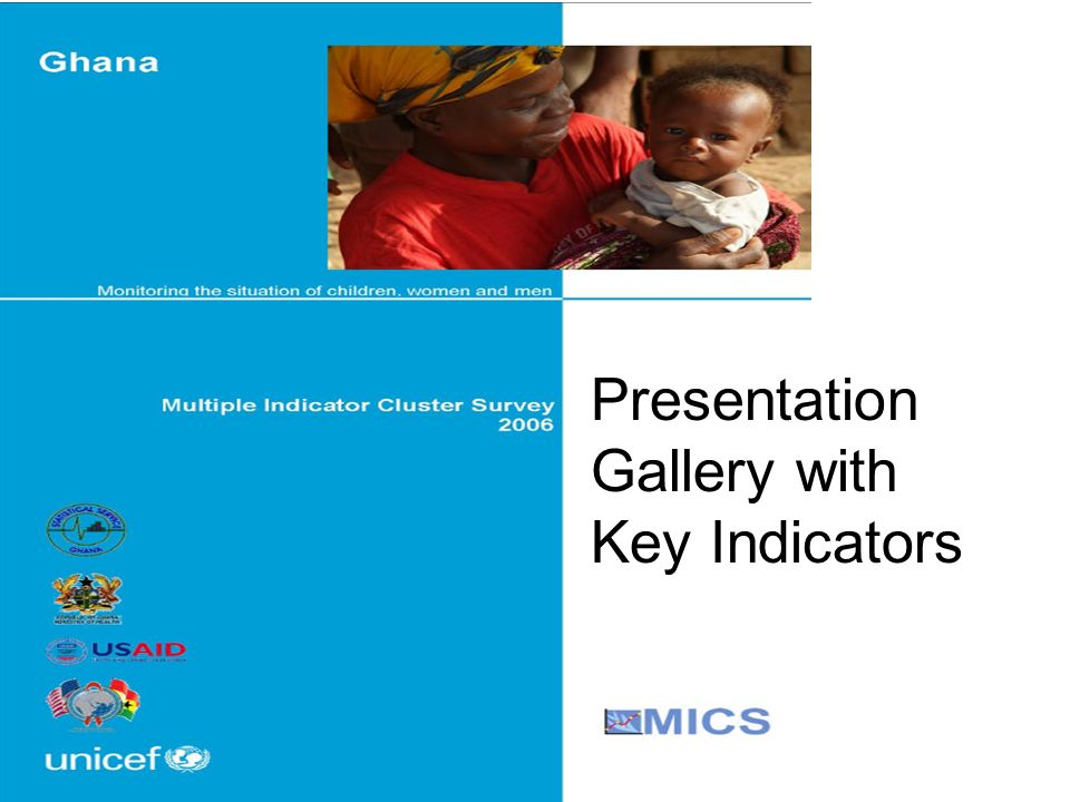 Presentation Gallery with Key Indicators