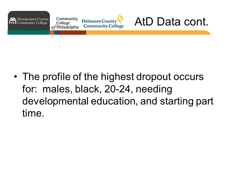 AtD Data cont.