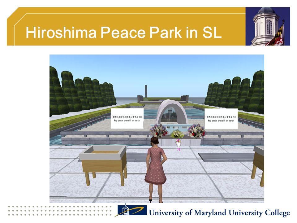 Hiroshima Peace Park in SL