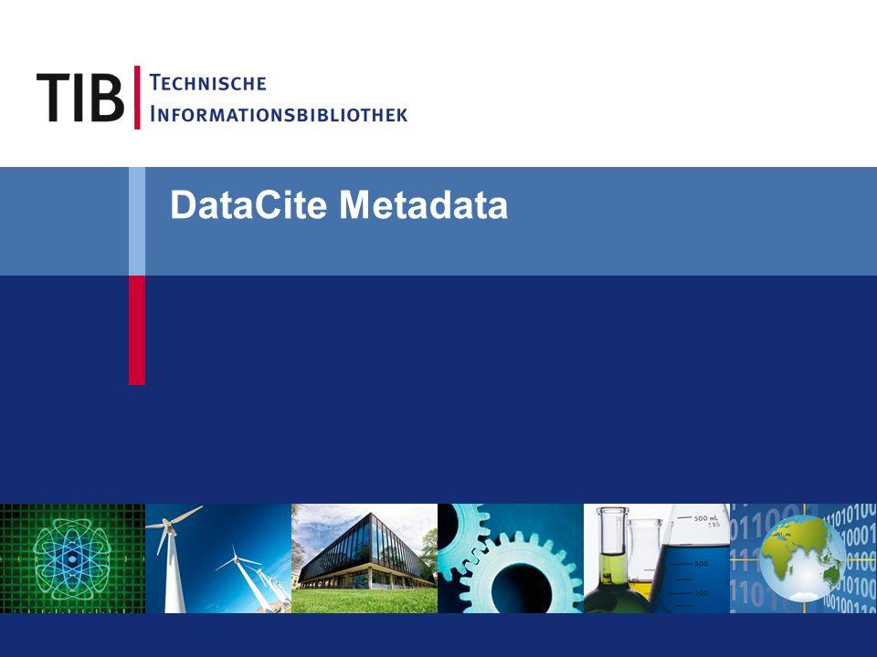 DataCite Metadata