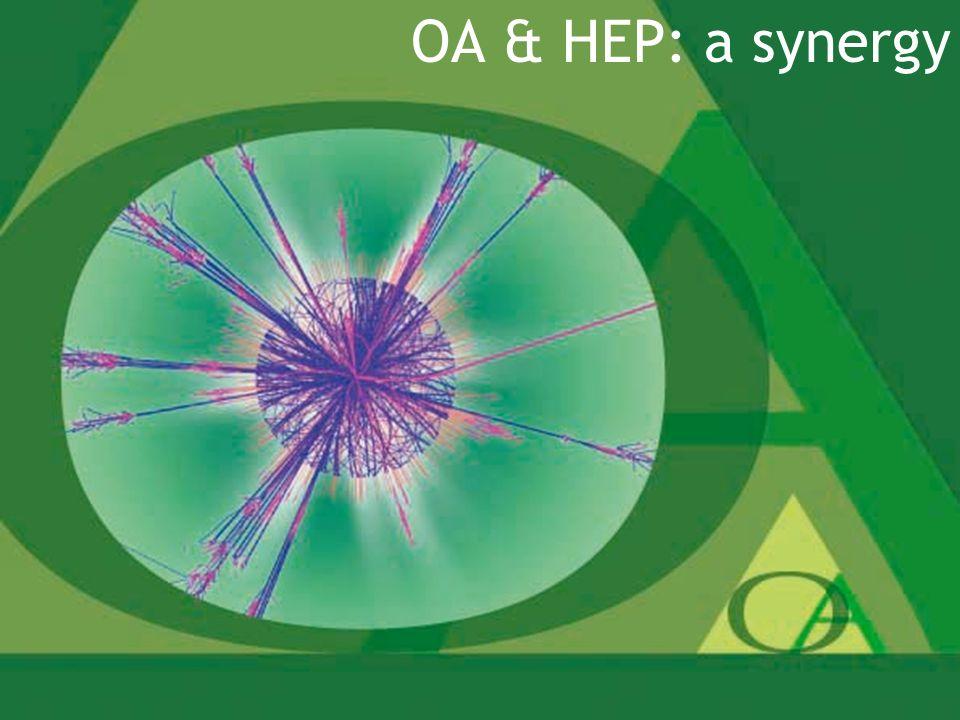 2 OA & HEP: a synergy