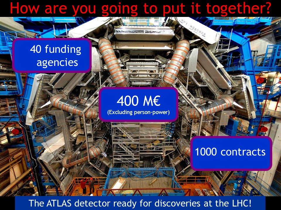 The ATLAS detector ready for discoveries at the LHC.