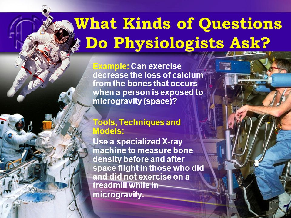 What Kinds of Questions Do Physiologists Ask.