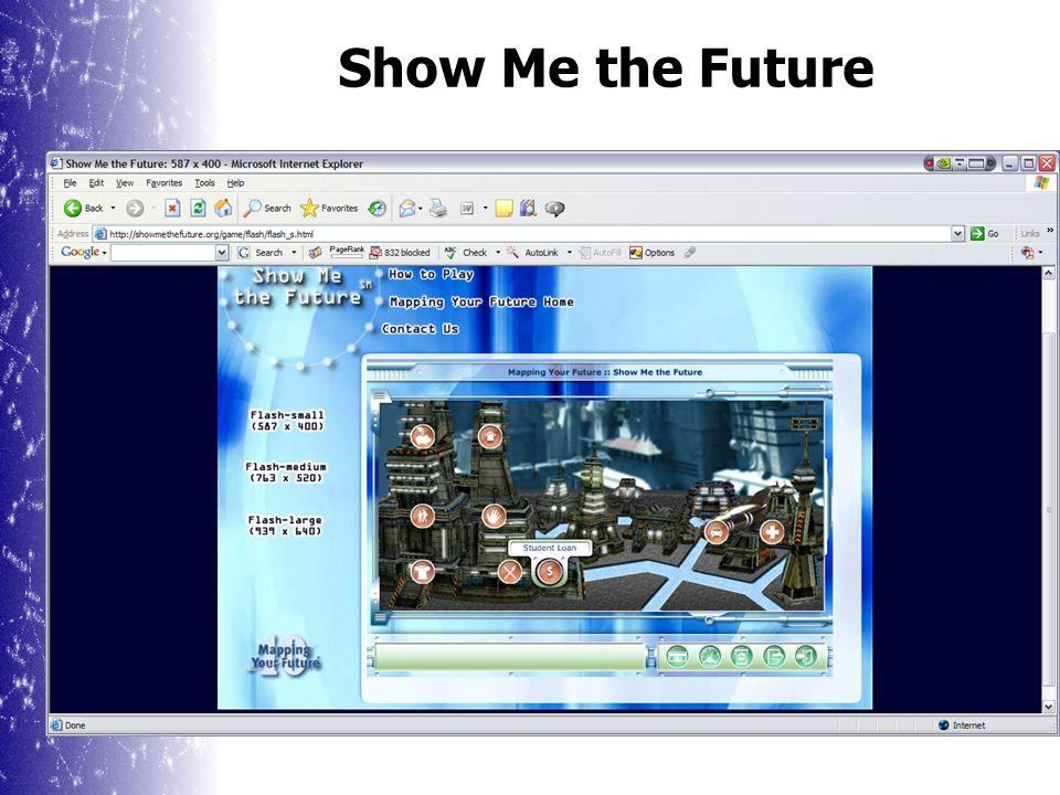 Show Me the Future