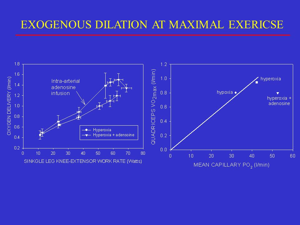 EXOGENOUS DILATION AT MAXIMAL EXERICSE