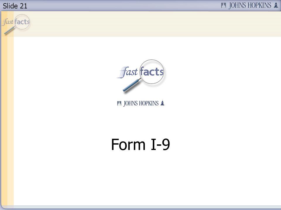 Slide 21 Form I-9