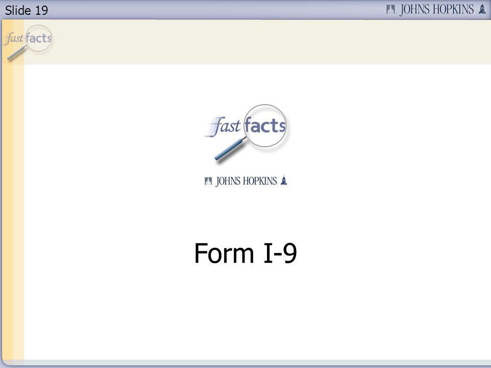 Slide 19 Form I-9