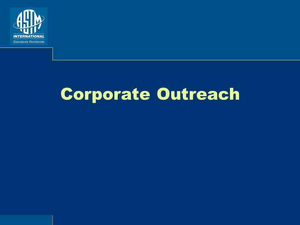 Corporate Outreach