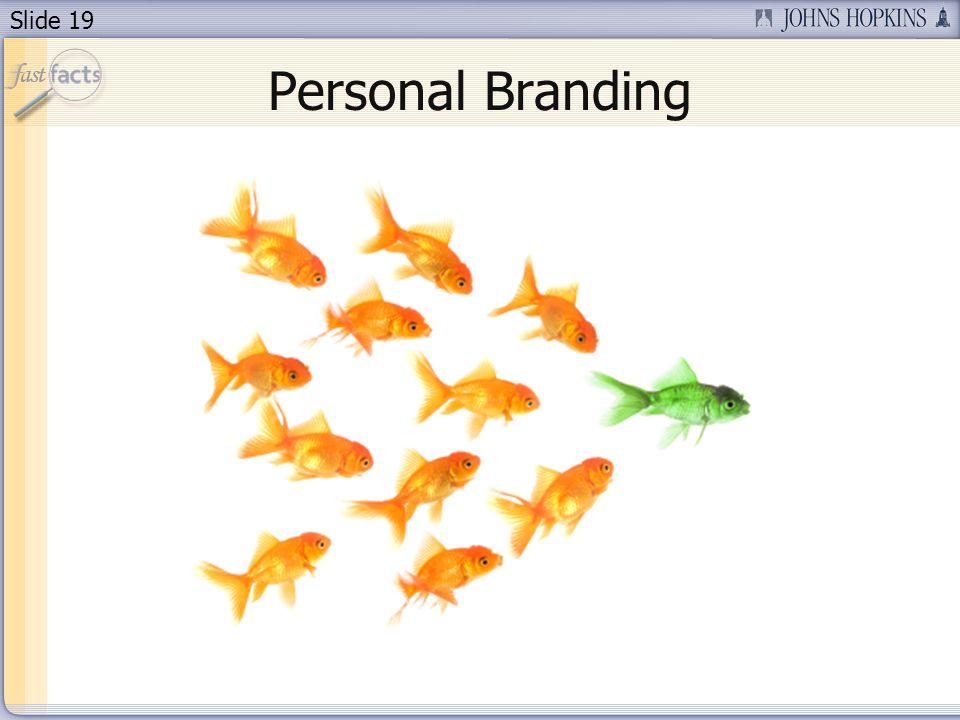 Slide 19 Personal Branding