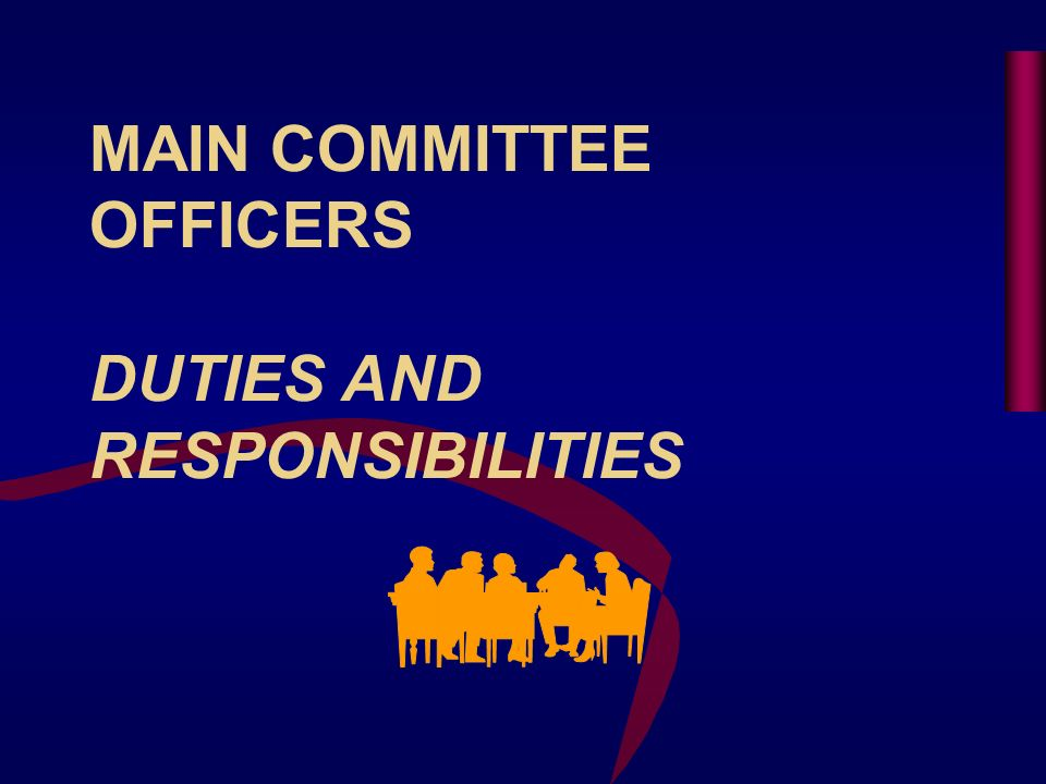PERFORM SPECIAL DUTIES AND ASSIGNMENTS (cont) BYLAWS COMMITTEE Keep Bylaws Current With Society Regulations AWARDS COMMITTEE Recommend Award of Merit Recipients from the Committee Administer Committee Awards Program Honorary Members