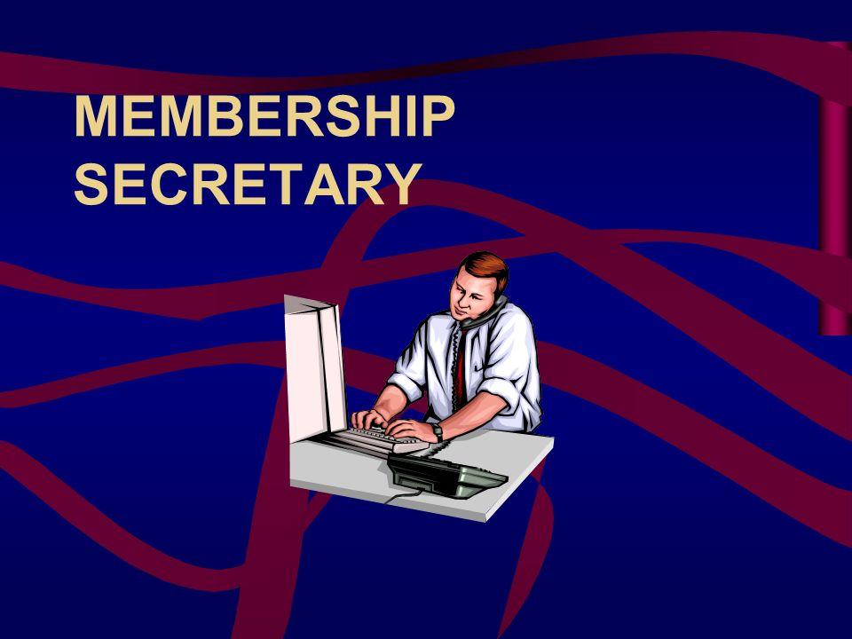 MEMBERSHIP SECRETARY