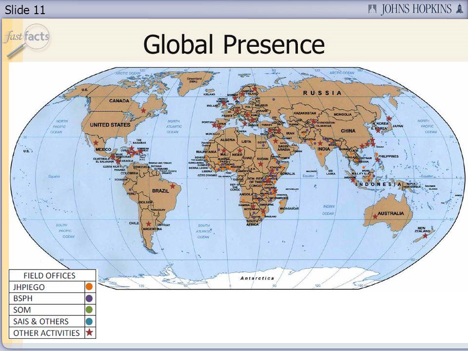 Slide 11 Global Presence