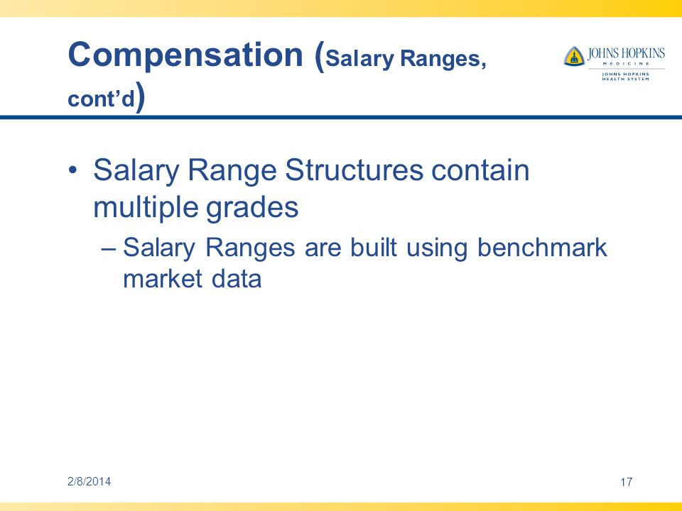 Compensation Shifts –Shifts are designated in SAP to augment an hourly rate based on hours worked –Evening, night and weekend shifts are eligible for receive differentials 2/8/201418