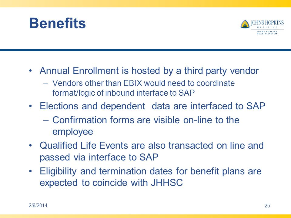 Benefits Leave programs –Length of service milestones –Accrual occurs by pay period –Maximums 2/8/201426