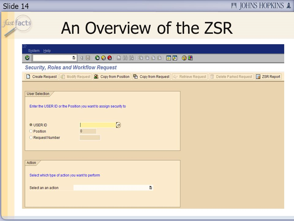Slide 14 An Overview of the ZSR