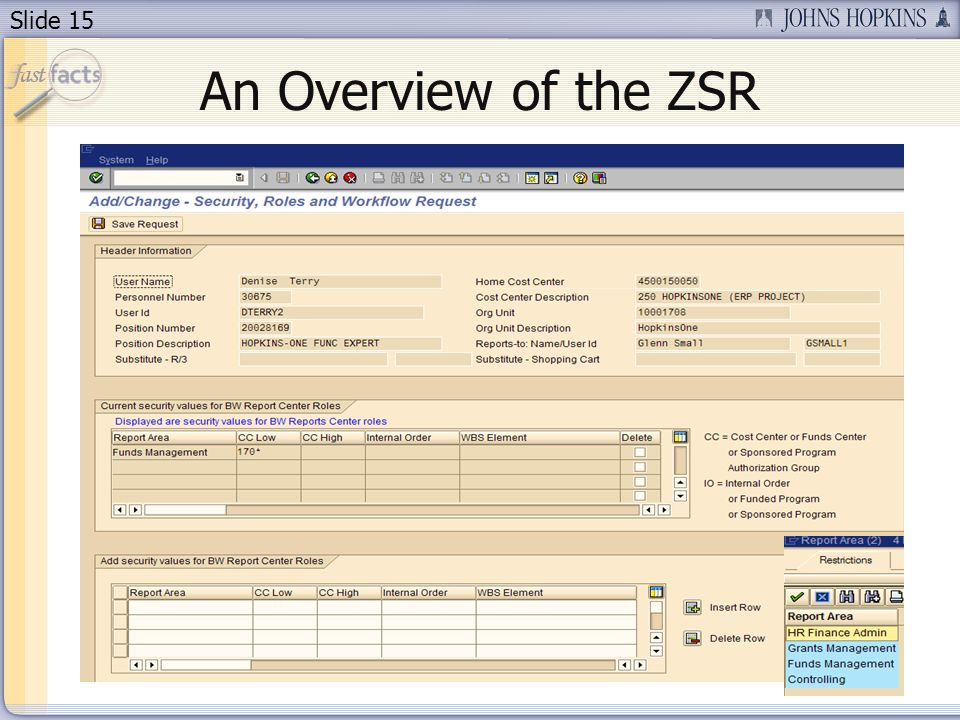 Slide 15 An Overview of the ZSR