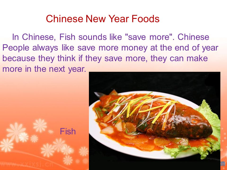 In Chinese, Fish sounds like save more .