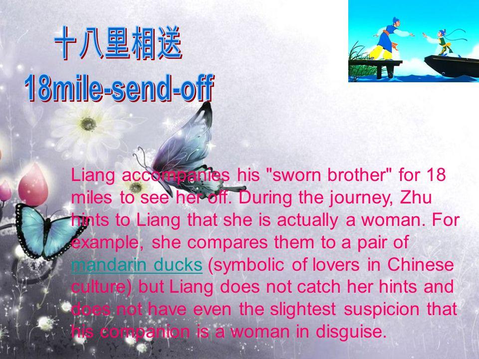 Liang accompanies his