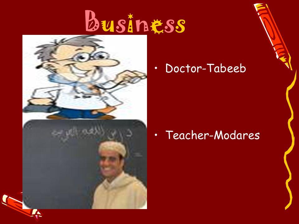 BusinessBusiness Doctor-Tabeeb Teacher-Modares