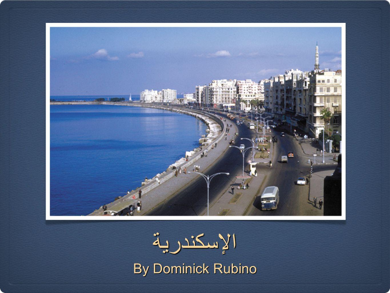 الإسكندرية By Dominick Rubino