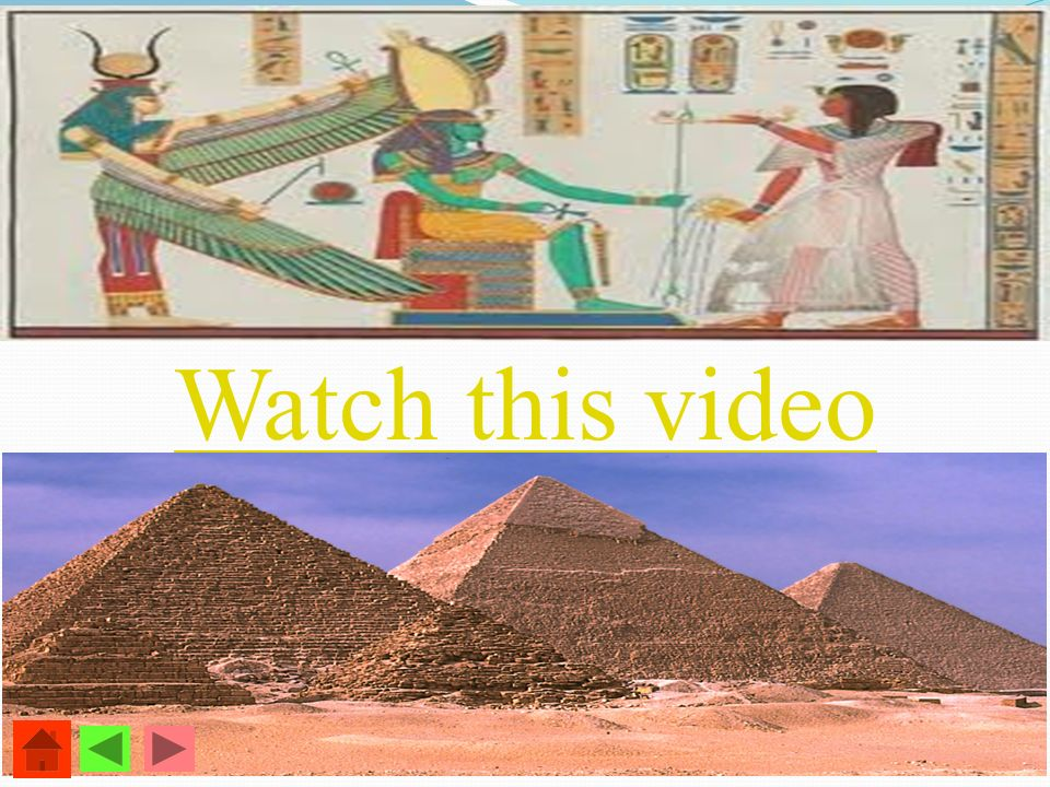 Watch this video - Its green around the River Nile. - Egyptians crowd around it.