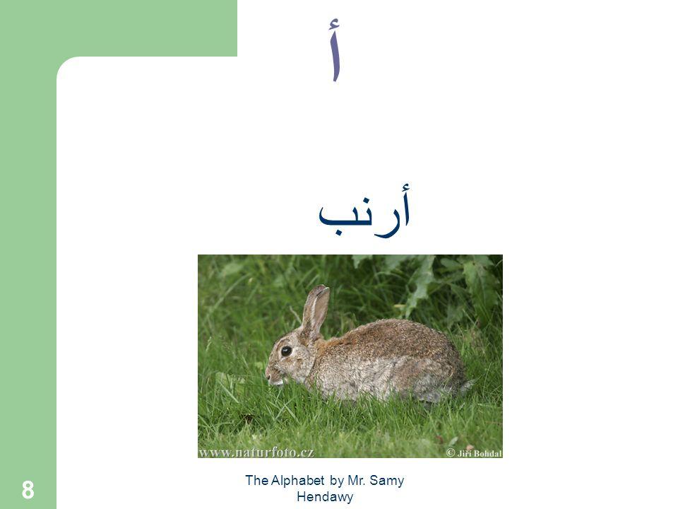 The Alphabet by Mr. Samy Hendawy 8 أ أرنب