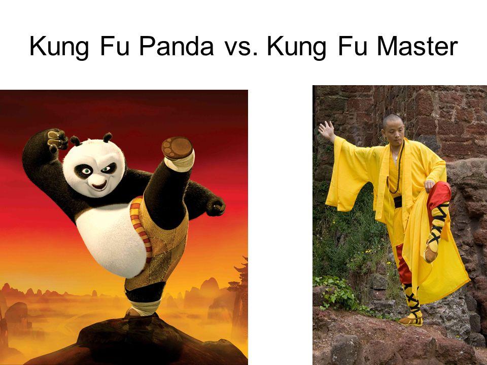 Kung Fu Panda vs. Kung Fu Master