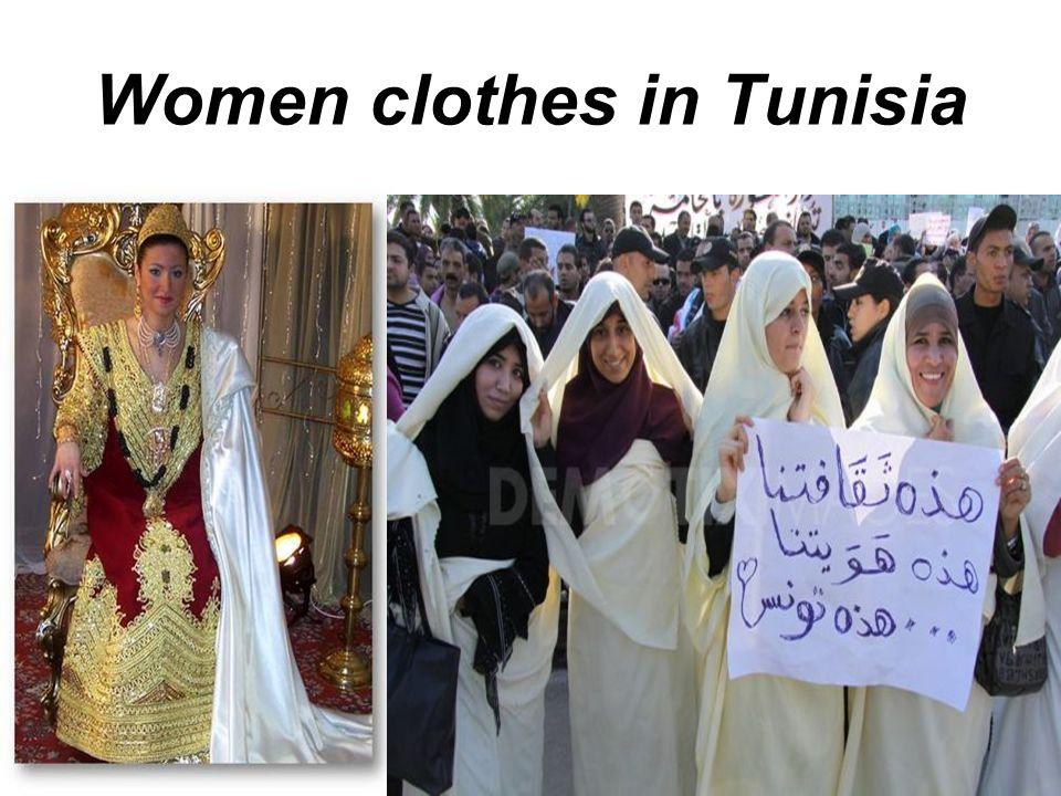 Women clothes in Tunisia