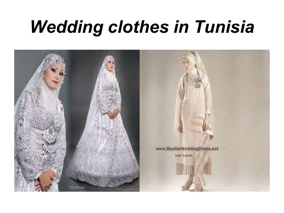 Wedding clothes in Tunisia