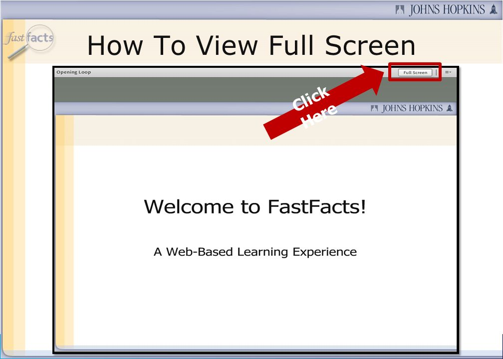 Contact Us If you would like to submit a question during the presentation or if youre having technical difficulties, you can email us at: fastfacts@jh
