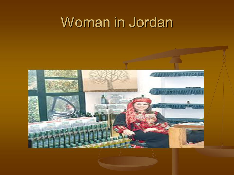 Woman in Jordan