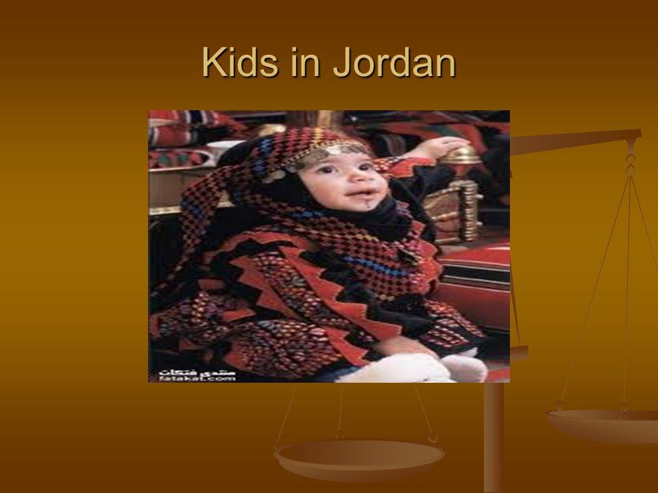 Kids in Jordan