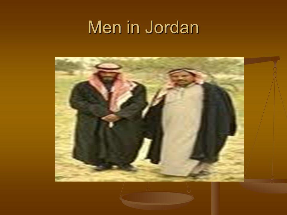 Men in Jordan