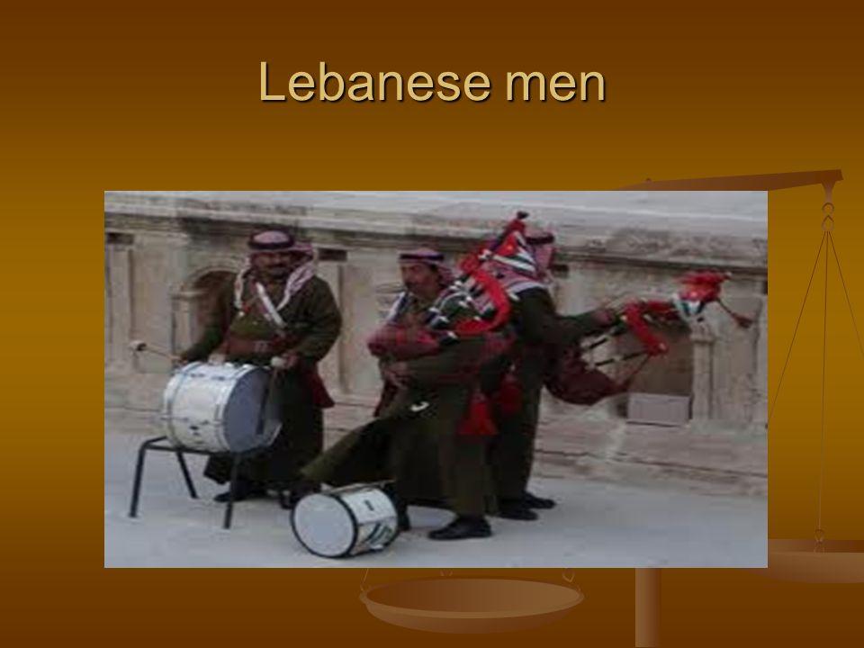 Lebanese men
