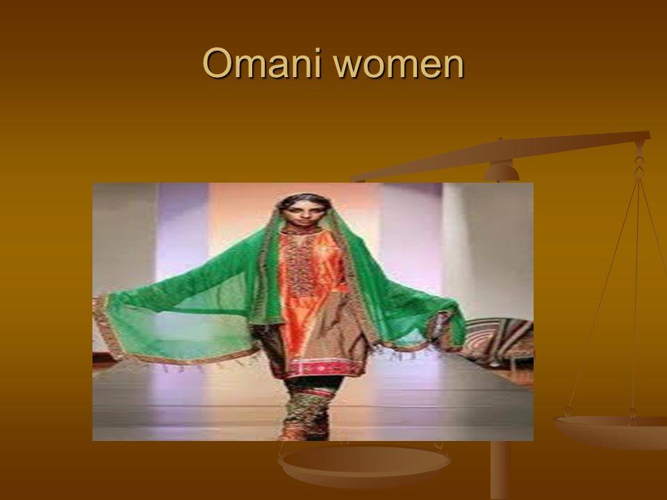 Omani women