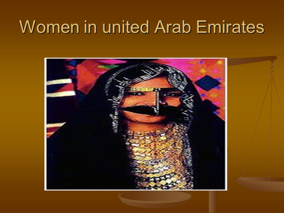 Women in united Arab Emirates