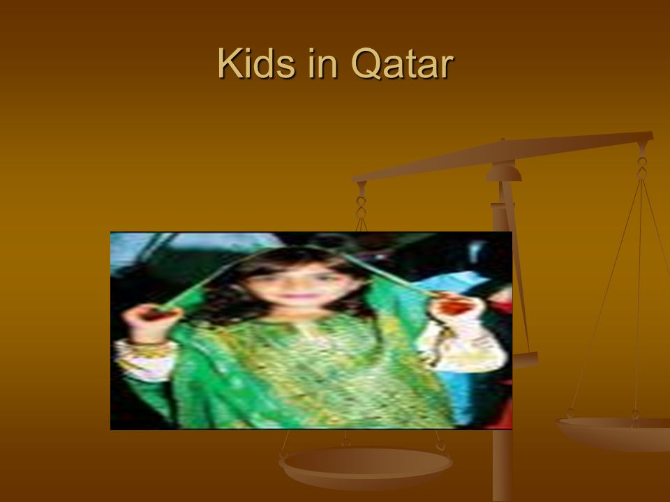 Kids in Qatar